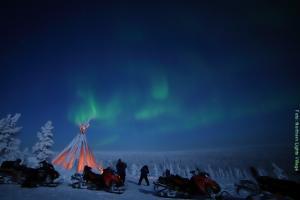 Nordlichter Reise Lappland NLV