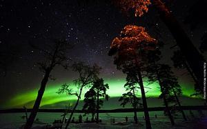 Polarlichter Reise Inarisee