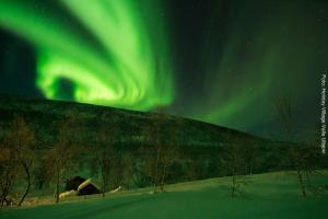 Nordlichter Lappland Utsjoki