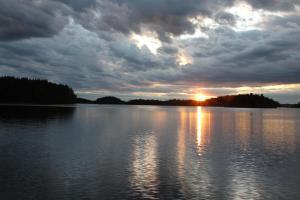 Finnland Urlaub Sommer See