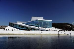 Norwegenreise Oslo Oper