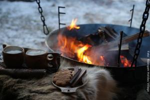 Nuorgam Holiday Village - Feuer
