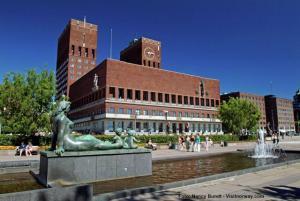 Norwegenreisen Oslo Rathaus