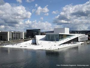 Norwegen Oslo Oper