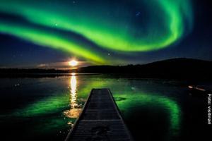 Polarlichter-Inarisee