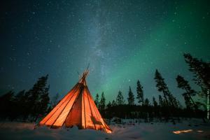 Polarlichter Reise Lappland NLV