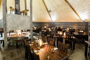 Schneehotel und Glasiglus Finnland - Kota Restaurant