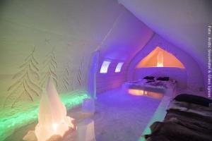 Schneehotel und Glasiglus Finnland - Familiensuite