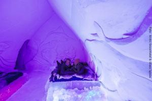 SSchneehotel und Glasiglus Finnland - Schneehotel Fischzimmer