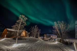 Schneehotel Norwegen