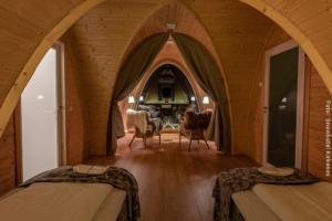 Nordlichthütte von Innen