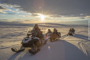 Schneemobil-Tour Lappland Utsjoki