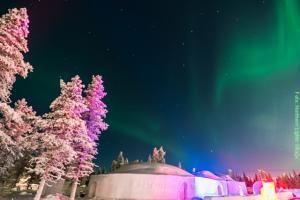 Schneerestaurant Lappland Saariselka