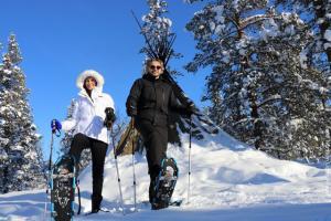 Schneeschuhwanderung Lappland