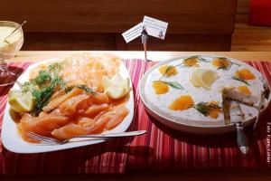 Lappland Abendessen