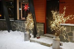 Winterreise Akaslompolo Hotel Seita