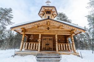 Kirche Nellim Inarisee
