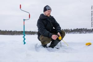 Hotel Muotka Lappland Lodge - Eisangeln