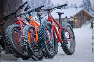 Fatbiking in Muotka