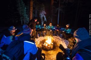 Hotel Muotka Lappland Lodge - Nordlichter Camp