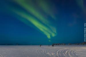 Nordlichter über dem Inarisee