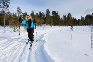 Hotel Muotka Lappland Lodge - Skilanglauf Tour