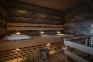 Blockhütte Kaamas mit Sauna