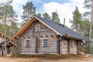Blockhütte Peska
