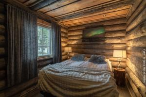 Doppelzimmer in Blockhütte Peska