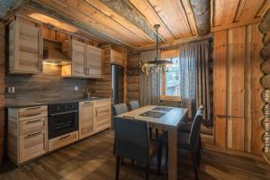 Blockhütte Peska mit Küche