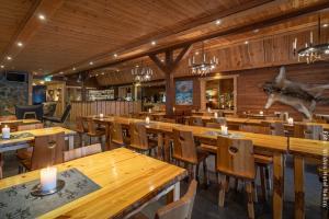 Restaurant im Wildnis Hotel Nellim