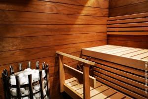 Sauna im Panorama Chalet