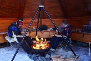 Winterreise_Lappland_Rast