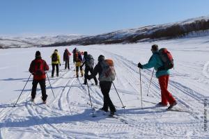 Winterreise_Lappland_Skiwanderung