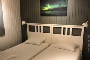 Winterreise Schwedens Norden - Doppelbett