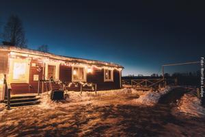 Winterreise Schwedens Norden - Norrsken Lodge