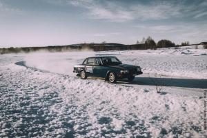 Winterreise Schwedens Norden - Ice Rally