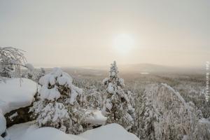 Winterreise Schwedens Norden - Luppioberget