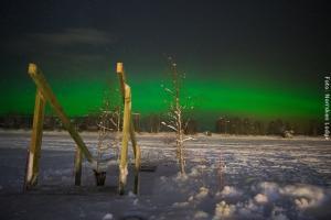 Winterreise Schwedens Norden - Nordlichter