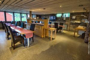 Winterreise Schwedens Norden - Restaurant