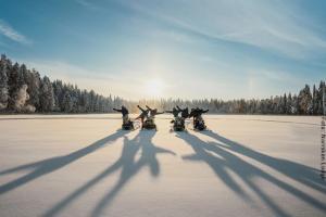 Winterreise Schwedens Norden - Spaß auf dem Schneemobil