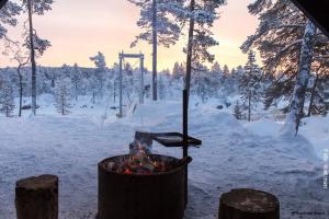 Winterreisen Inari Finnland