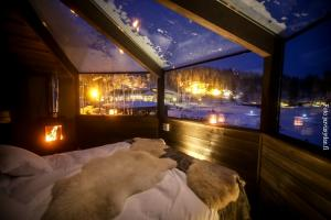 Winter Nordlichter Finnland