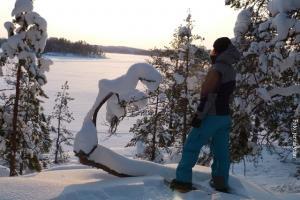 Winterreise Finnland Süden